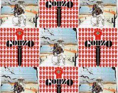 Grateful Dead BERNIE BLOTTER ART perforated acid art by ZaneKesey