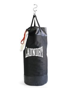 Punch Bag Laundry Bag #holiday #giftguide #fitness http://greatist.com/discover/gift-guide-fitness-lovers
