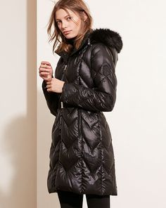 wow - what a great coat - Belted Down Coat - Lauren Coats - RalphLauren.com