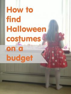 How to Find Halloween Costumes on a Budget