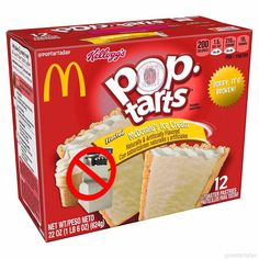 McDonald's Ice Cream Pop Tarts - Modern Funny Food Memes, Stupid Memes, Food Humor, Funny Relatable Memes, Gross Food, Weird Food, Fake Food, Weird Oreo Flavors, Pop Tart Flavors