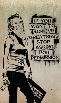"Canvas Printed Banksy Graffiti "" Permission - 8 x 12 Inch Pray"" Street Art Fan Artwork Collection Wall Decor. Banksy, Art Photography, Inspiration, Public Art, Wall Art, Amazing Art, Art, Street Art Banksy, Graffiti Art"
