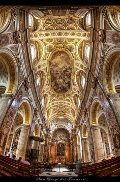 San Luigi dei Francesi Rome -- Italy