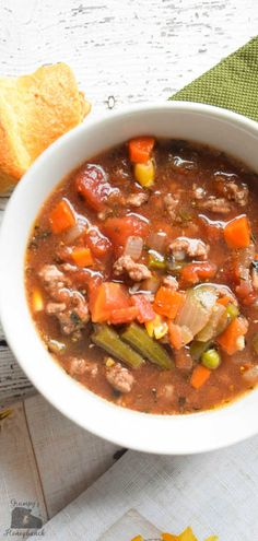 Hamburger Soup Recipe, Soup Recipes, Soups, Low Carb Soup, Hamburger Soup, Keto Soup, ground beef, ground beef recipes, ground beef meals, low carb high protein meals Low Carb Dinner Recipes, Vegetarian Recipes Dinner, Healthy Soup Recipes, Keto Dinner, Ground Beef Stews, Soup With Ground Beef, Ground Beef Recipes, Atkins Recipes, Ham Recipes