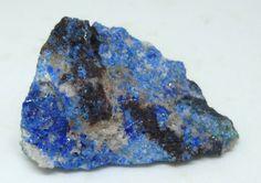 Linarite Crystals – Mammoth-St.Anthony Mine, Tiger, Arizona, USA
