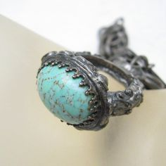 Vintage Fob Bracelet Monet Jewelers Ring by PurpleDaisyJewelry
