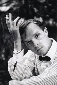 Truman Capote. Without words.