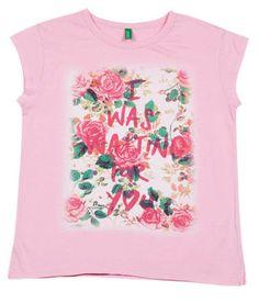18d48379f87 UCB Short Sleeve Light Pink Solid T-Shirt For Kids