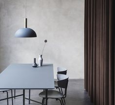 Dome shade   suspension pendant light  ferm living #nedgis #blue #lamp #lighting #design