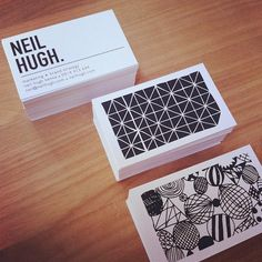 Hoorah! #neilhugh #businesscards #branding by @Shelley Cox Web Instagram User » Followgram