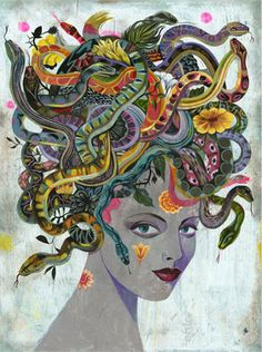 Mystic Medusa is a fabulous, insightful and super spot on Sydney based astrologer I've had the great fortune to know and draw astro wisdom from.  It all started when I picked up her Sun Signs and Soul Mating book one day on a complete whim, after that it's been one inspirational after another.  Love her, love her work.  Definitely part of my daily dose of required reading.