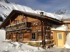 Knuttenalm im Winter #Ahrntal #Suedtirol