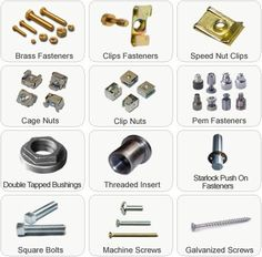 Bolts, Nuts, and Fasteners