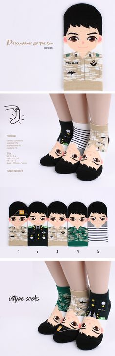 876054fea Intype Character Funny Crazy Lowcut Socks Collection (10. Milky 4pairs) at  Amazon Women's Clothing store: