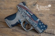 Mobile-optimized version of the project picture. Smith & Wesson, American Flag, Pistol, Crimson Socom Blue A.