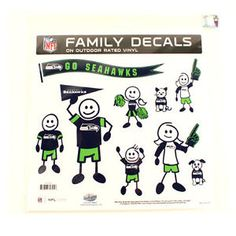 Seattle-Seahawks-NFL-Large-and-Small-Family-Car-Decals