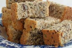Healthy Banana Bread (Low fat/low sugar recipe made with agave and applesauce) (Low Carb Kuchen Apfelmus) Low Sugar Recipes, No Sugar Foods, Banana Bread Recipes, Diabetic Recipes, Low Sugar Banana Bread, Healthy Banana Bread, Sugar Bread, Agaves, Rusk Recipe