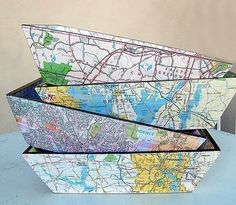 Great reuse of maps, it is all about where you have been and where you are going!