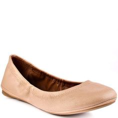 Love a pair of simple nude flats