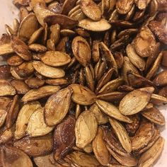 The #traegertimberline was running on #supersmoke so I smoked some #pumpkinseeds and they were awesome #allgone