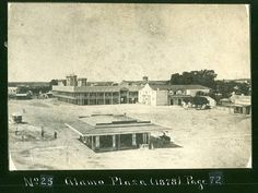 Commercialism Weeding Out Historically Significant Landmarks: Alamo Plaza 1872