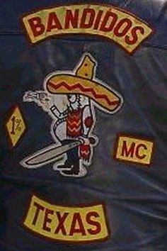 Back patch mc clubs in texas