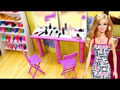 DIY Miniature Dollhouse - FROZEN Anna & Elsa Bedroom (NOT A KIT!) - YouTube