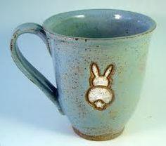 Bunny mug- what beautiful colours