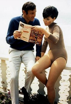 Adam West & Yvonne Craig, 1967