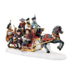 """Department Products - """" The 12 Days Of Dickens' Village Twelve Drummers Drumming"""" - View Accessories Christmas Village Collections, Christmas Village Houses, Christmas Village Display, Christmas Town, Twelve Days Of Christmas, Christmas Villages, Holiday Tree, Christmas Decor, Dept 56 Dickens Village"""