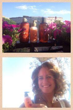 Chiara Giordano ha scelto di utilizzare i prodotti organici Simply Organic : salute e benessere senza compromessi!