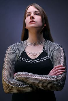chain maille shirt from Kali Butterfly - in May Artizen article: http://bit.ly/gUtffL