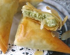 Freezer Appetizer: Homemade Spanakopita in Phyllo Pastry