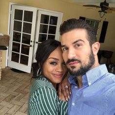 """'The Bachelorette' star Rachel Lindsay shares Bryan Abasolo wedding plans. Former """"The Bachelorette"""" star Rachel Lindsay is sharing her wedding plans with fans. Black And White Dating, Black And White Couples, Black Woman White Man, Black Women, Cute Couples Goals, Couples In Love, Cute Couple Pictures, Couple Photos, Bachelorette Contestants"""