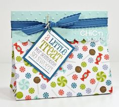 Stampin' Up - Angie Kennedy Juda  cute tag