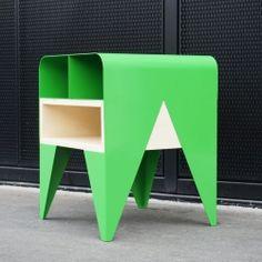 FROG - Furniture storage / bedside, by french designer Nicolas Abdelkader.