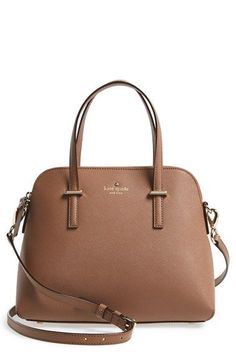 Love the elegant arcing silhouette of this pretty Kate Spade satchel. Love the elegant arcing silhouette of this pretty Kate Spade satchel. Look Fashion, Fashion Bags, Fashion Handbags, Fashion Jewelry, Spring Fashion, Womens Fashion, Kate Spade Satchel, Kate Spade Purse, Kate Spade Handbags