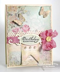 ISSC19 - Birthday Blessings by Coconutmuffn - Cards and Paper Crafts at Splitcoaststampers