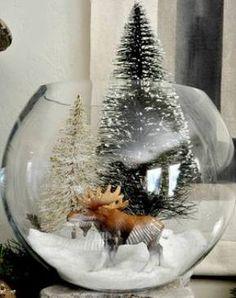 Ideas de navidad con peceras