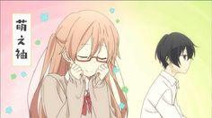 番長2@有坂真白FC @anime12111 やまじょとたなたげの白石さん可愛すぎ〜 2人ともやばすぎるw この2人最強やろ! #田中くんはいつもけだるげ