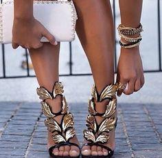 8c4c607b1ad ... giuseppe zanotti angel wing heels and pumps ...