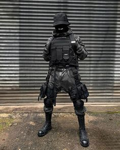 dope kitted out tech wear fit - professional photography editing for influencers 🤩 - Mode Cyberpunk, Cyberpunk Clothes, Cyberpunk Fashion, Edgy Outfits, Cool Outfits, Dark Fashion, Mens Fashion, Steampunk Fashion, Gothic Fashion