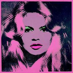 Andy Warhol, Brigitte Bardot, 1974