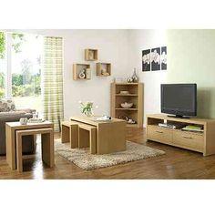 Ancona Living Room Range - Oak Effect