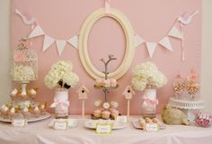 Party in Pink set up