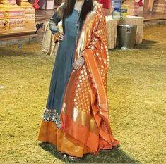 Latest Punjabi Suits Design, Latest Suit Design, Dress Indian Style, Indian Dresses, Indian Outfits, Indian Wear Rajasthani Dress, Rajputi Dress, Jaipur, Color Combinations, Sari, Suits, Model, Dress Ideas, Dresses #suitdesign #colourcombination #punjabisuits #punjabisuit #contrastcolour #colorcombination Colours Combination Ideas Suits Kurti Dress New Colour Combination For Punjabi Suits Fashion Trends contrast colour combination for lehenga,peach colour combination dresses Stylish Dress Designs, Stylish Dresses, Casual Dresses, Fashion Dresses, Fashion Wear, Indian Designer Suits, Party Wear Indian Dresses, Pakistani Dresses, Indian Attire