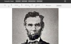 Image Triangulation es una curiosa aplicación web que recrea cualquier imagen a partir de triángulos. Puedes subir fotos o tomarlas con tu webcam.