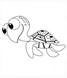 Disegni da colorare per bambini. Colorare e stampa Alla ricerca di Nemo 27