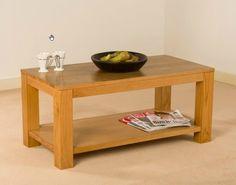 Dakota Oak 1 Shelf Coffee Table  https://www.tradepricefurniture.co.uk/dakota-oak-1-shelf-coffee-table.html