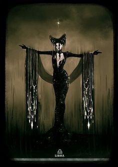 Dark / Goth / Black / Libra